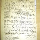 Page link: Will of Thomas Rowninge 1625